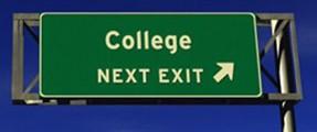 College Next Exit
